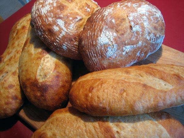many loaves