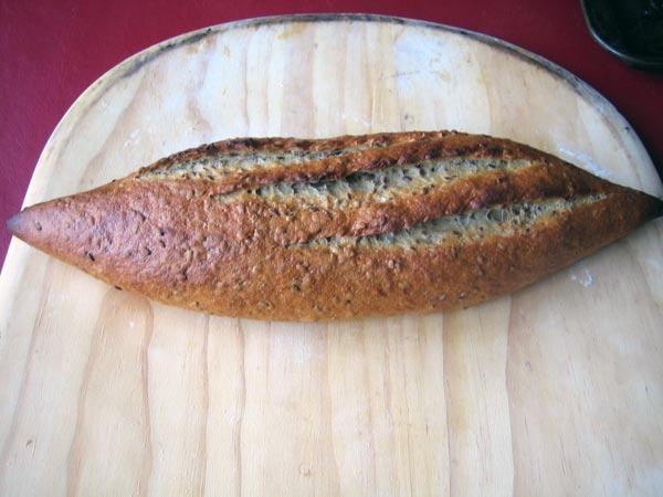 flax seed bread