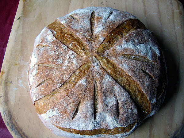 light rye bread