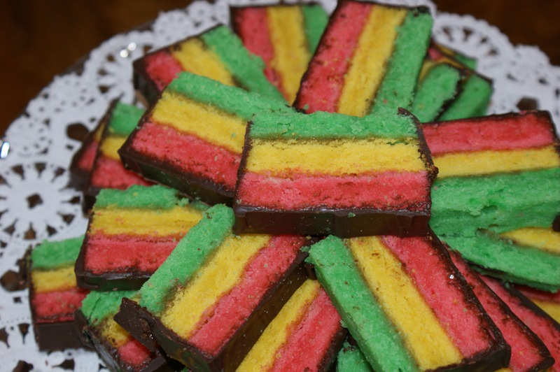 Rainbow Cookie Cake Picture