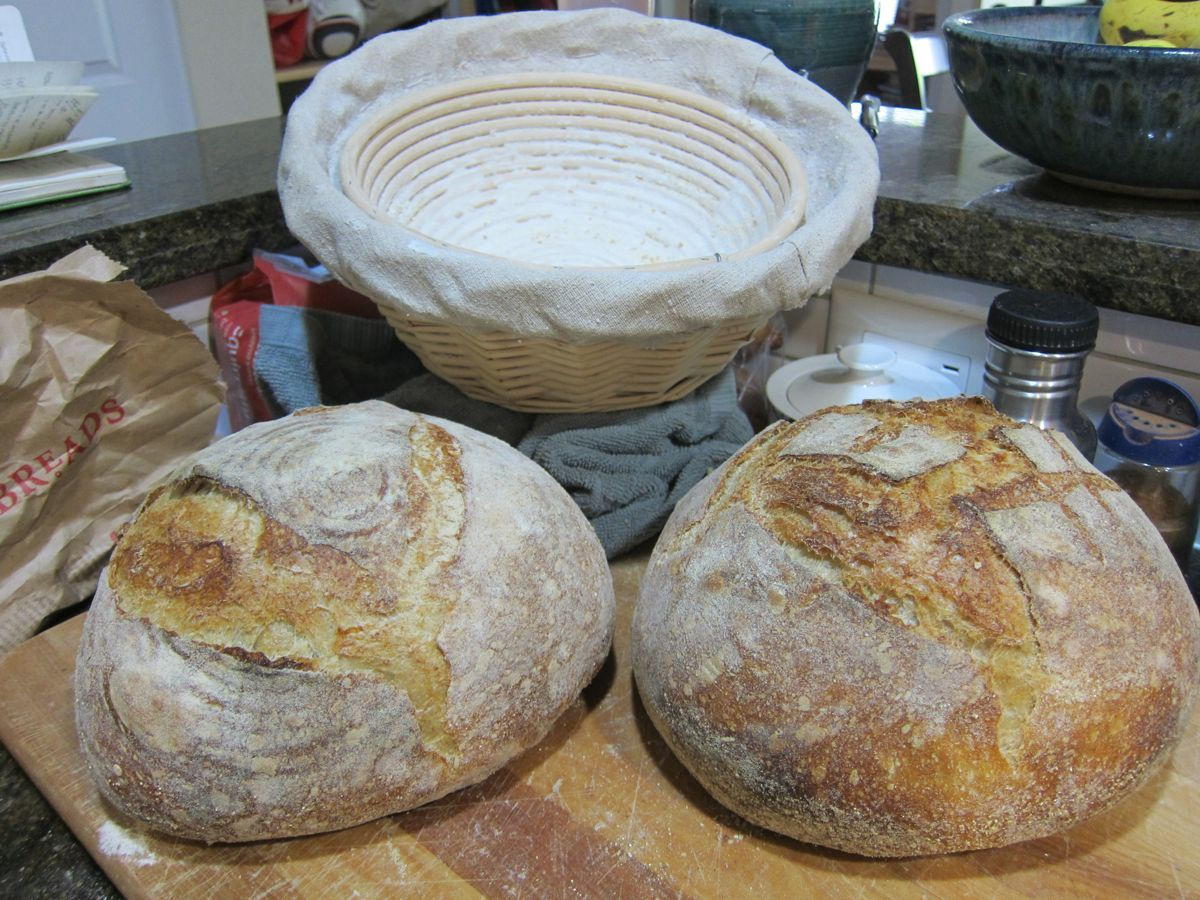 finished loaves