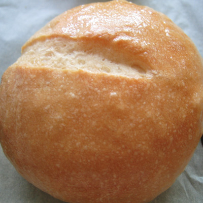 butter glazed roll