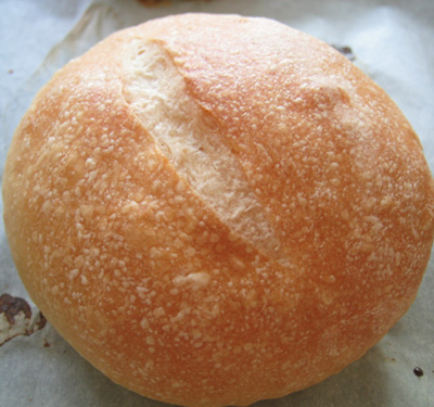 milk glazed roll