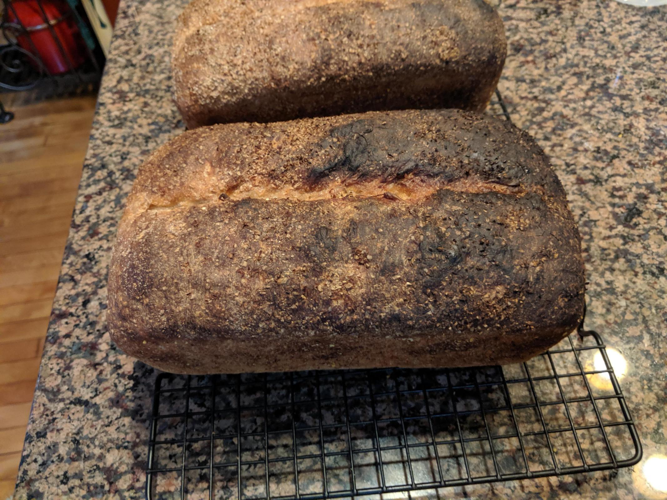 Sourdough Sandwich Bread