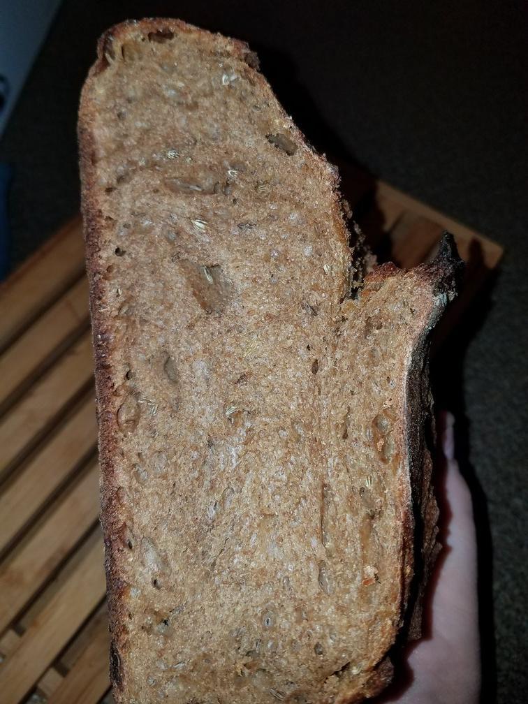 rye crumb