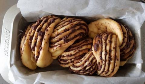Babka loaf - proofed