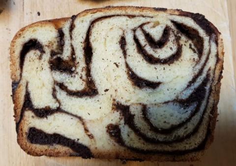Babka loaf crumb shot 4