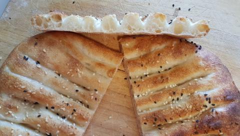 Barbari batch 2, loaf 1