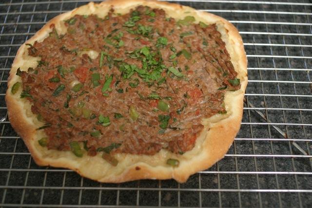 Image result for Armenian lahmajoun