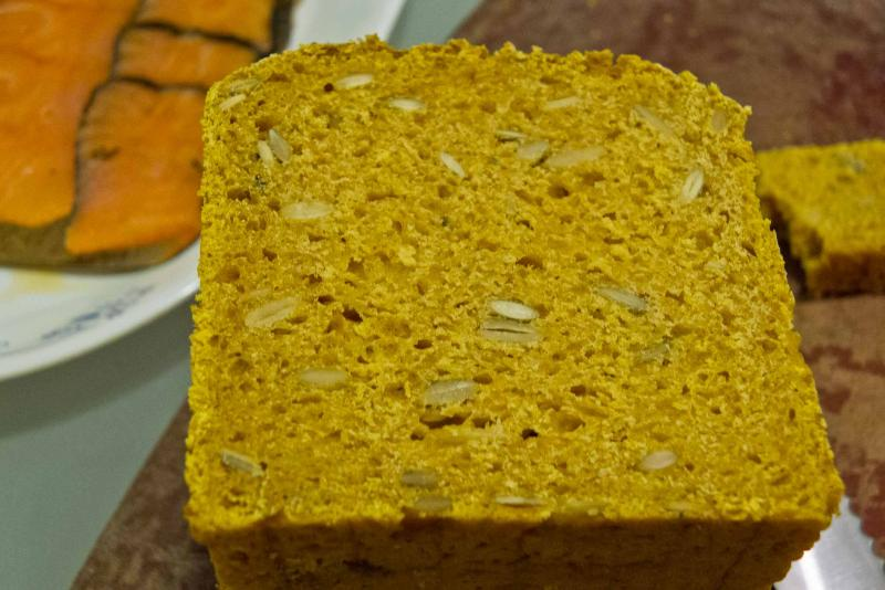 Week-old Pumpkin Whey Bread