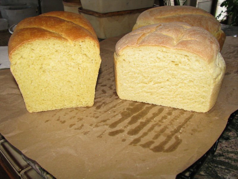 crumb side by side