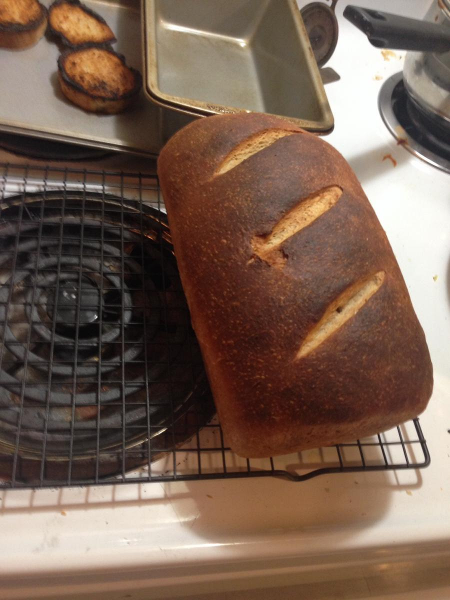 That loafed baked (better light)