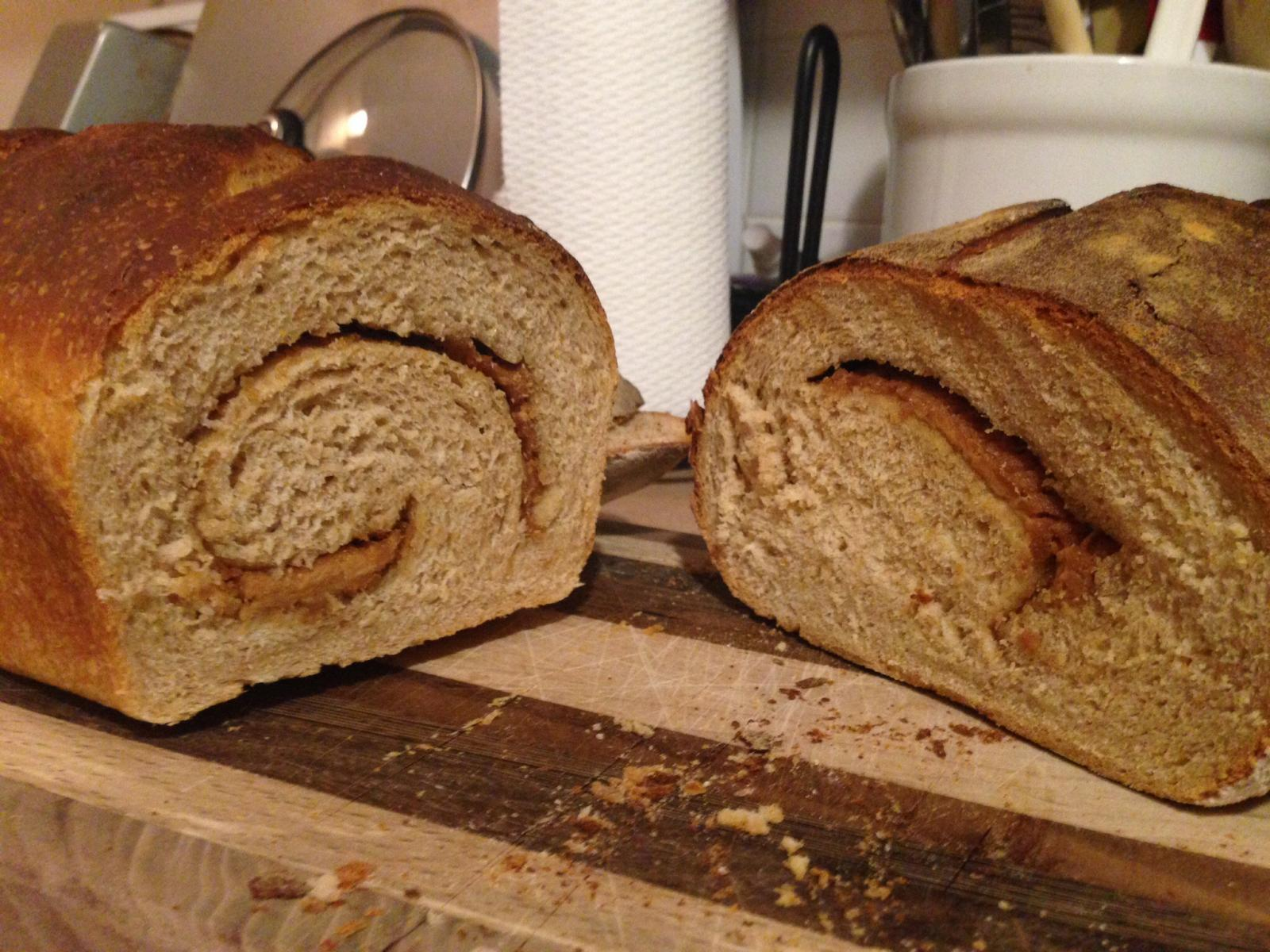 Crumb of first cuts.